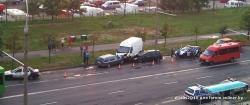 Минск: молодой водитель Ford врезался в припаркованные автомобили. Парень скончался