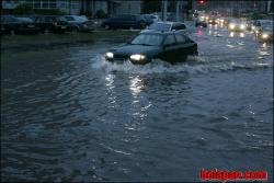 Минск опять поплыл после очередного летнего дождя ( ФОТО )