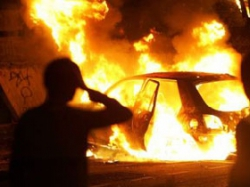 Ночью на СТО в Минске загорелись шесть автомобилей BMW