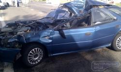 Серьезная авария произошла вчера в Бресте.