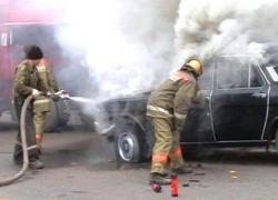 В центре Гродно вспыхнул пожар из-за оборвавшегося троллейбусного провода
