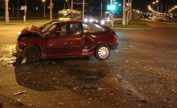 В ДТП в Минске серьезно пострадала женщина-водитель
